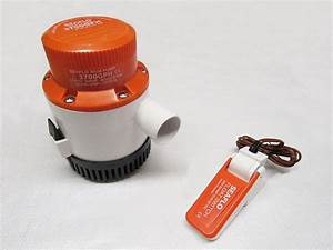 Boat Bilge Pump With Float Switch