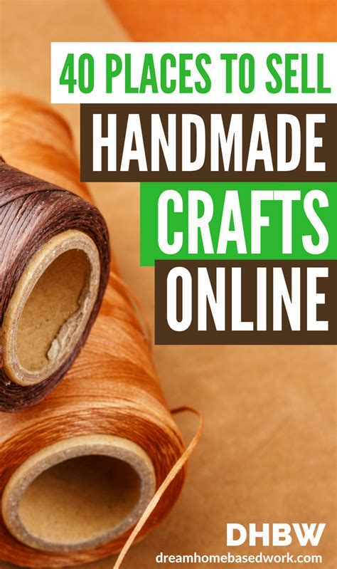 sell  handmade crafts  art   breaking
