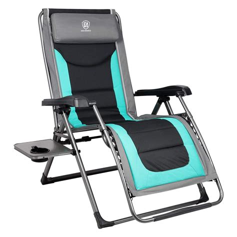 gravity chair zero recliner chairs advanced lounger padded ever xl alltoptenreviews patio naomi amazon