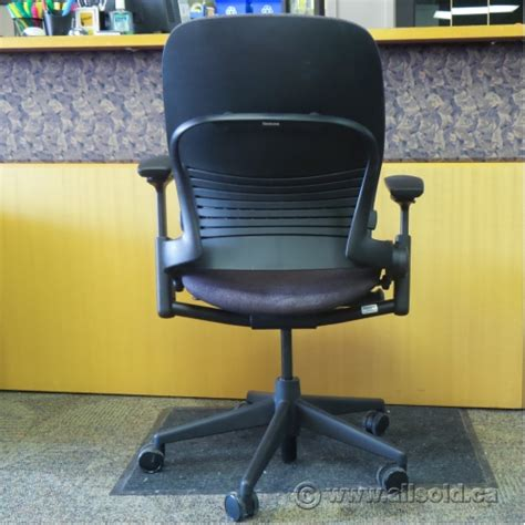 steelcase leap v2 purple adjustable ergonomic task chair w