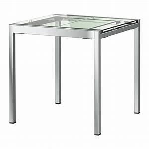 Table A Manger En Verre Ikea : la table extensible design la solution pour les petits ~ Teatrodelosmanantiales.com Idées de Décoration