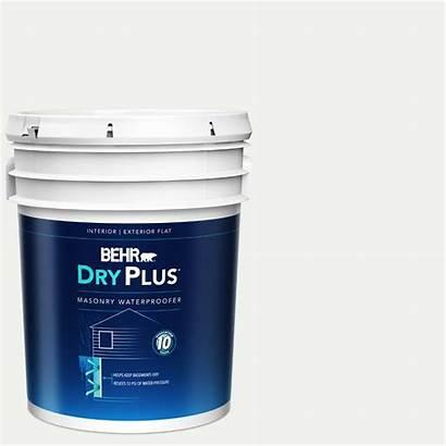 Behr Paint Masonry Premium Basement Waterproofing Block