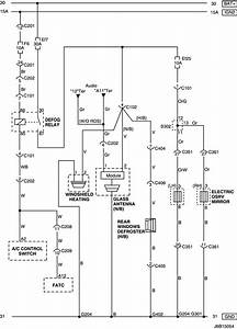 Electrical Wiring Diagram 2006 Nubira Rear Window Defroster  U0026 Osrv Mirror