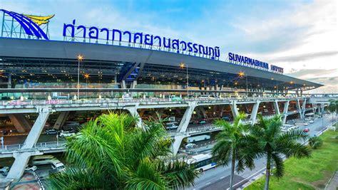 Suvarnabhumi Airport Stock Footage Video