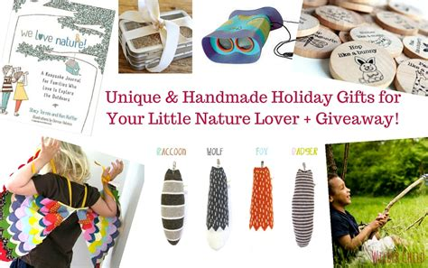 unique handmade holiday gifts for your little nature lover
