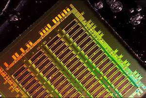 Integrating optical components into computer chips