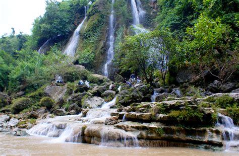 sri gethuk waterfall yogyakarta