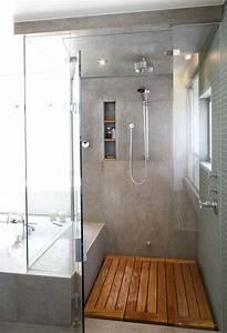 Moderniser Une Salle De Bain : installer une douche l 39 italienne bienchezmoi ~ Zukunftsfamilie.com Idées de Décoration