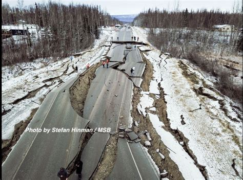 Anchorage Alaska Earthquake Damage
