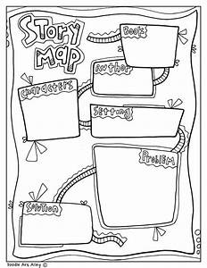 Story Map Graphic Organizer At Classroom Doodles  From