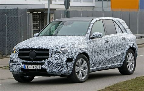 2019 Mercedesbenz Gle Spied, Muddy Prototype Shows G