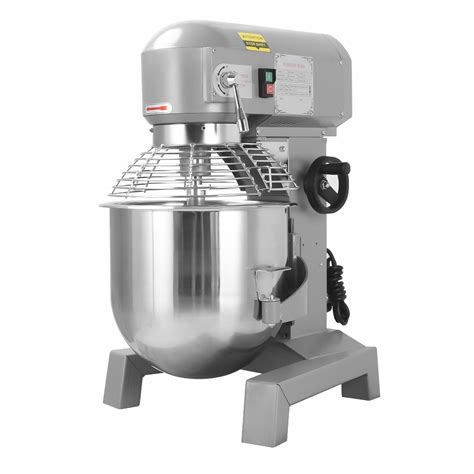 commercial mixer dough bakery blender gear food pizza pick 30qt driven 4hp speed three