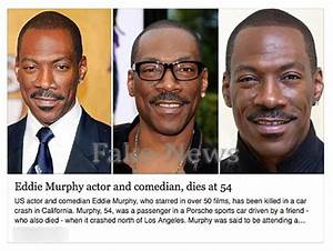 Eddie Murphy Has NOT been Killed in a Car Crash - Hoax-Slayer
