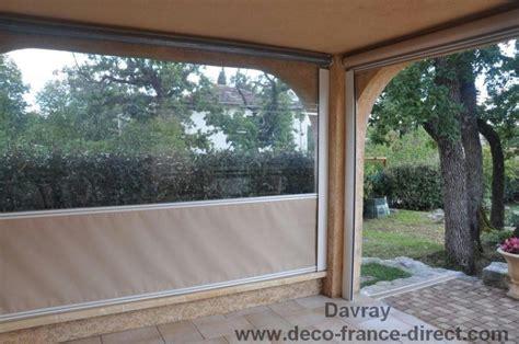 rideau pour store banne rideau coupe vent pour terrasse dootdadoo id 233 es de