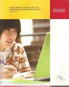 Teas Review Manual  Version 5 0  Ati  Study Manual For The