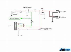 3 Pin Aux Switch Wiring Diagram