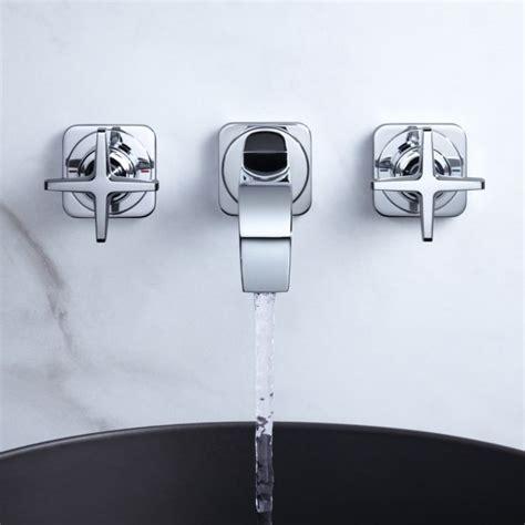 Axor Citterio E Timelessly Mixers Axor Citterio E 3 Wall Mounted Basin Mixer Tap Uk Bathrooms