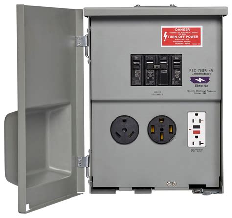 rv power outlet   gfci