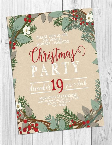 best 25 christmas party invitations ideas on pinterest holiday party invitations diy