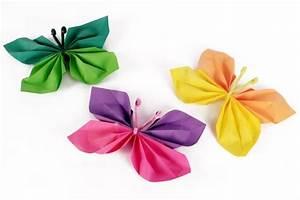 Papillon Papier De Soie : papillons en papier activit s enfantines id es cr a ~ Zukunftsfamilie.com Idées de Décoration