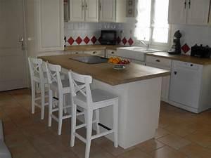 chaises hautes cuisine ikea cuisine en image With deco cuisine avec ou trouver des chaises