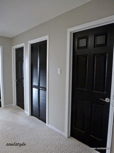 black interior doors soulstyle interiors  design
