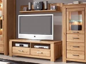 Meuble tv bois massif contemporain mzaolcom for Meuble de salle a manger avec meuble tv bois massif