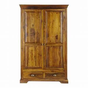 Dressing Maison Du Monde : dressing en bois de sheesham massif l 122 cm luberon ~ Nature-et-papiers.com Idées de Décoration
