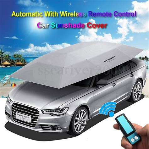 Car Portable by Automatic Removable Portable Car Sun Shade Cover Tent