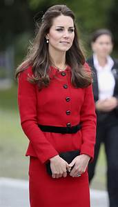 Kate Middleton Ends New Zealand Tour on Chic Note with Red ...