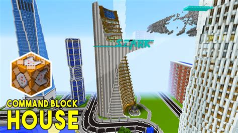 Modernes Haus Minecraft Command by Stark Tower In Minecraft W Command Block Creations