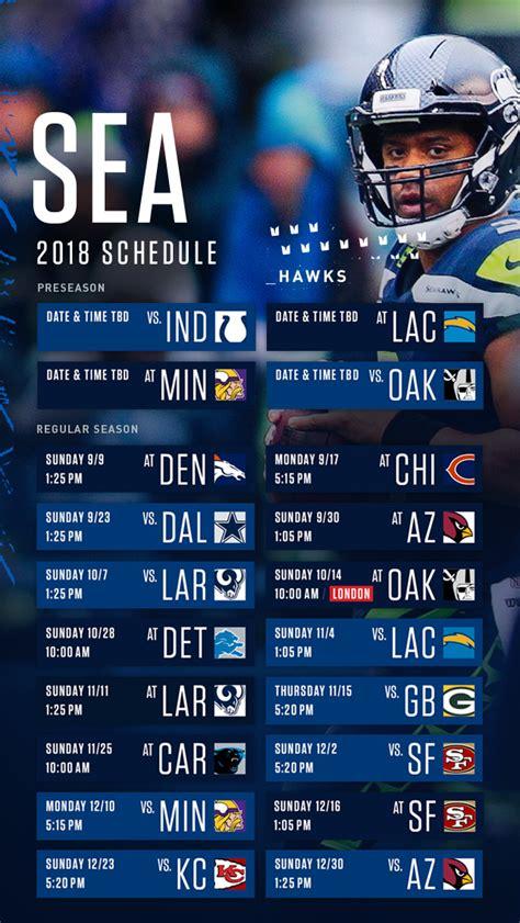 seahawks schedule seattle seahawks seahawkscom