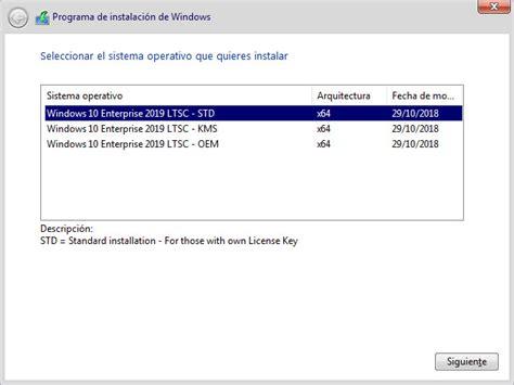 Windows 10 Enterprise Ltsc 2019 180917763194 [x64