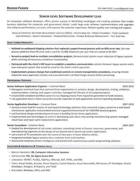 Software Resume by Software Developer Resume