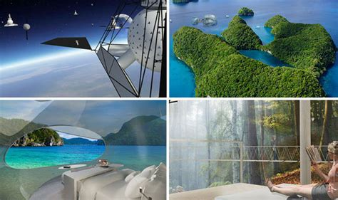drone operated flying hotel rooms  future  holidays travel news travel expresscouk