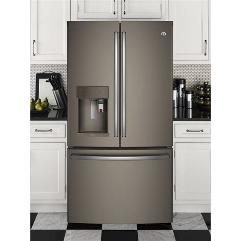 ge profile door refrigerator pye22pmkes ge profile 22 2 cu ft counter depth