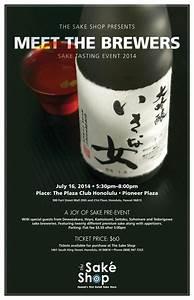 Meet the Brewers Sake Tasting Event! – The Sake Shop