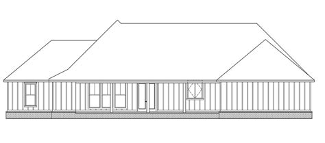 Traditional Style House Plan 41402 with 3 Bed 3 Bath 2