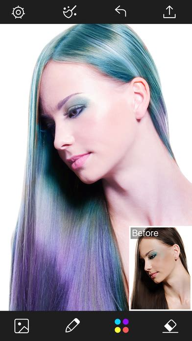 hair color booth app hair color changer styles salon recolor booth app