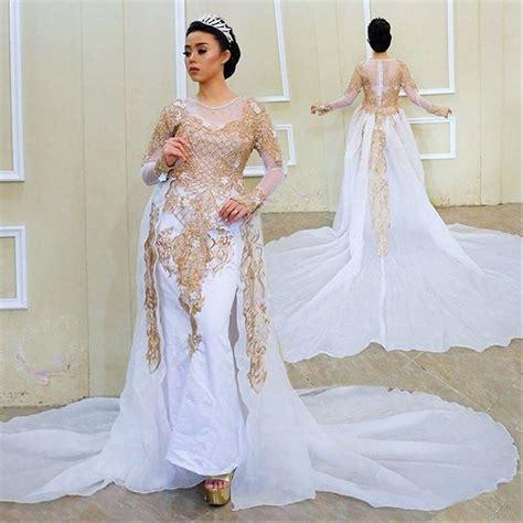 Kebaya Pengantin Modern Jumbo 21 baju kebaya ibu pengantin inspirasi terkini