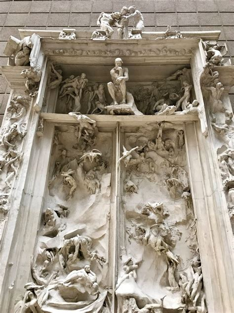 Porta Dell Inferno Dante by La Porta Dell Inferno Di Rodin La Disperazione Narrata Da