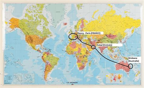 Carte Du Monde Dubai by Le D 233 Part Approche Nous 5 Aussie