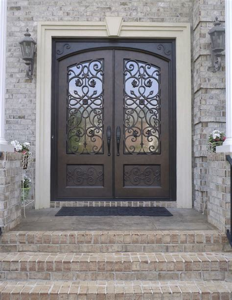 Ornate Double Iron Doors