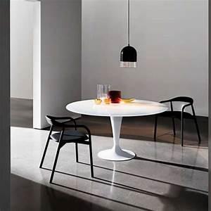 Table Ronde En Verre Pied Central : table ronde design en verre fl te sovet 4 ~ Teatrodelosmanantiales.com Idées de Décoration