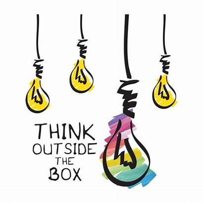 Box Think Outside Clip Creative Thinking Innovation