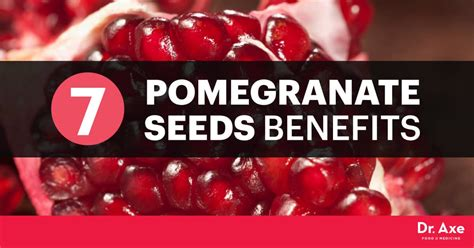 incredible pomegranate seeds benefits dr axe