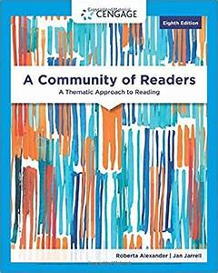 Ebook Pdf  A Community Of Readers  A Thematic Approach To