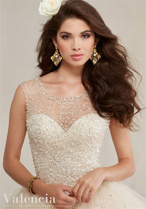ball gown style quinceanera dress style  morilee