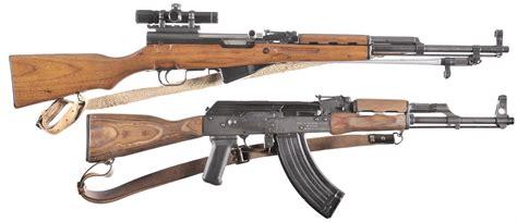 Two Semi-Automatic Rifles