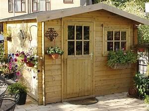 Chalet Bois Pas Cher : chalet bois jardin pas cher ~ Nature-et-papiers.com Idées de Décoration